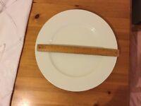 Large white LSA platter plate £4