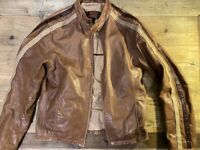 Danier Leather Jacket Size S UK 36-38