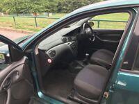 Ford Focus estate 1.6 Petrol 12 Month mot