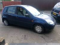 £30 a year tax ,Diesel 53 Reg Ford Fiesta with 12 months mot ,px welcome