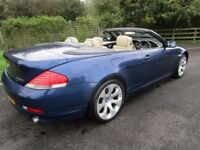 2005 BMW 630 Ci coupe CONVERTIBLE ### ONLY 2 OWNERS ###