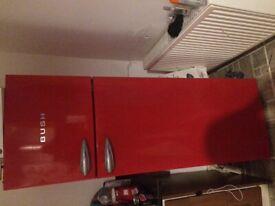 Red fridge freezer bush retro