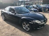 Mazda rx8 1.3 petrol 231 bhp model 55-plate! Short mot end month! Still showing tax! 79,000 miles!!