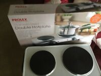Prolex Electric Double Hotplate - Stainless Steel - as New