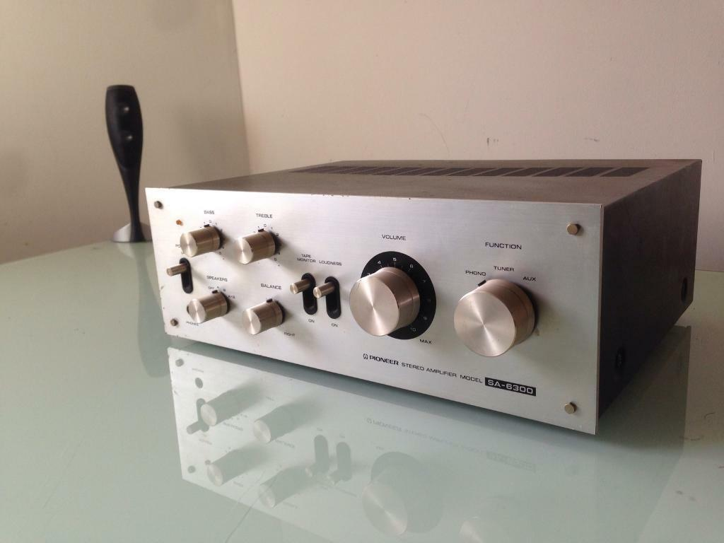 Pioneer SA-6300 Vintage Integrated Hifi Amplifier