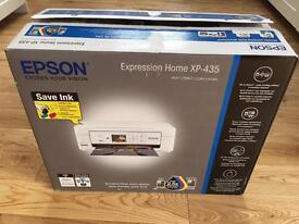 EPSON EXPRESSION HOME XP-435 PRINTER -ex Display