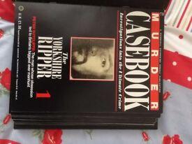 Murder Casebook Book Magazine Collection