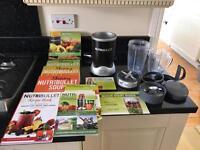 NUTRIBULLET MAGIC BULLET & recipe books VGC