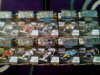 F1 Model Car Collection and Magazines