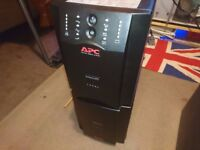 APC Smart-UPS 750XL & Battery Pack - No Batteries