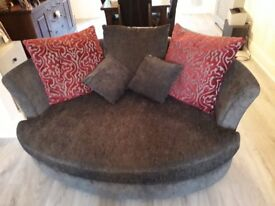 "4 seater sofa and large ""Snug"" available"