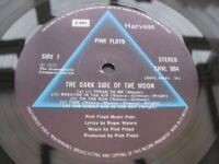 Pink Floyd – Dark Side Of The Moon - Disc only - UK Harvest 1973