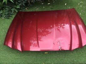 Bonnet red CHB - Jaguar X type 2004 Petrol 4AWD damaged !