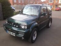 06 Suzuki Jimny 4x4 low miles for age 98k long mot december 2018 drives excellently no faults vgc