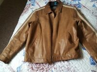 Ted Baker leather jacket -XL size
