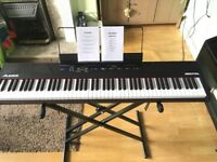 Alesis Recital digital piano and stand