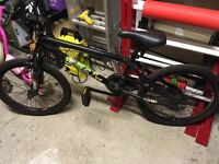BMX Youth bike. Hardly used. Suit 10 to 14 year old. VGC