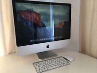 "apple iMac 24"" with 256GB ssd 6GBRAM"