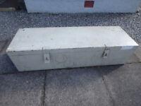 heavy duty metal trunk