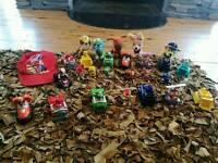 Various kids stuff. Paw patrol set, tool station, bucky & jolly roger, minions etc