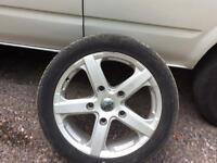 Transit 18 inch alloy wheels