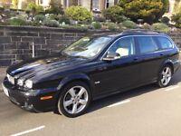 2009 Jaguar X Type sovereign Estate Diesel,Full Beige Leather,High Spec,Fsh