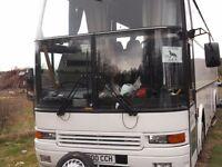 Motorhome Volvo B10 M registered Motor Caravan HGV