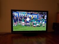 50 Inch Full HD Panasonic Plasma TV - superb picture quality for movies