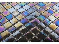 Mosaics Metallic Glass