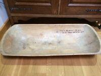 Lovely antique dough bowl large fruit bowl /rustic