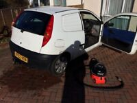 FIAT PUNTO VAN 102,000 MILES , 10 MONTHS M.O.T, STARTS AND DRIVES PERECTLY