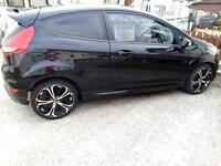 SPECIAL EDITION SPORTY 2011 shiny black FIESTA EDGE, ff RS body kit,1.2L,SCORPION ALLOYS, EXC