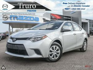 2014 Toyota Corolla $47/WK TAX IN! MANUAL! NEW TIRES! NEW BRAKES
