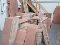 PLYWOOD OFFCUTS - HIGH QUALITY FROM 20p