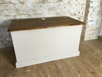 Blanket Box - Solid pine. Great quality.