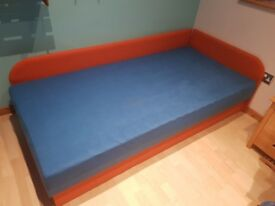 single bed and junior cabinet