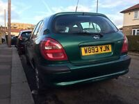 For sale Nissan almera 1,8 automatic petrol low mileage...