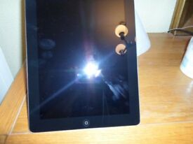 iPad *** Apple iPad Model A1458 Colour Black - 16 GB Wifi Only