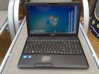 TOSHIBA SATELLITE C660 - 300GB HDD STORAGE - 4GB RAM - WINDOWS 7
