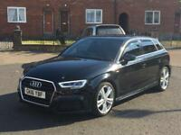 Audi A3 S Line 5dr Facelift Automatic S Tronic 14k Miles HPI clear! - Seat Skoda Volkswagen