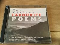 The Nations Favourite Poems CDs