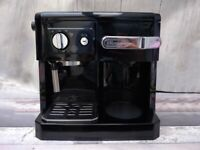 DeLonghi - Black Espresso, Filter Coffee Machine ONO