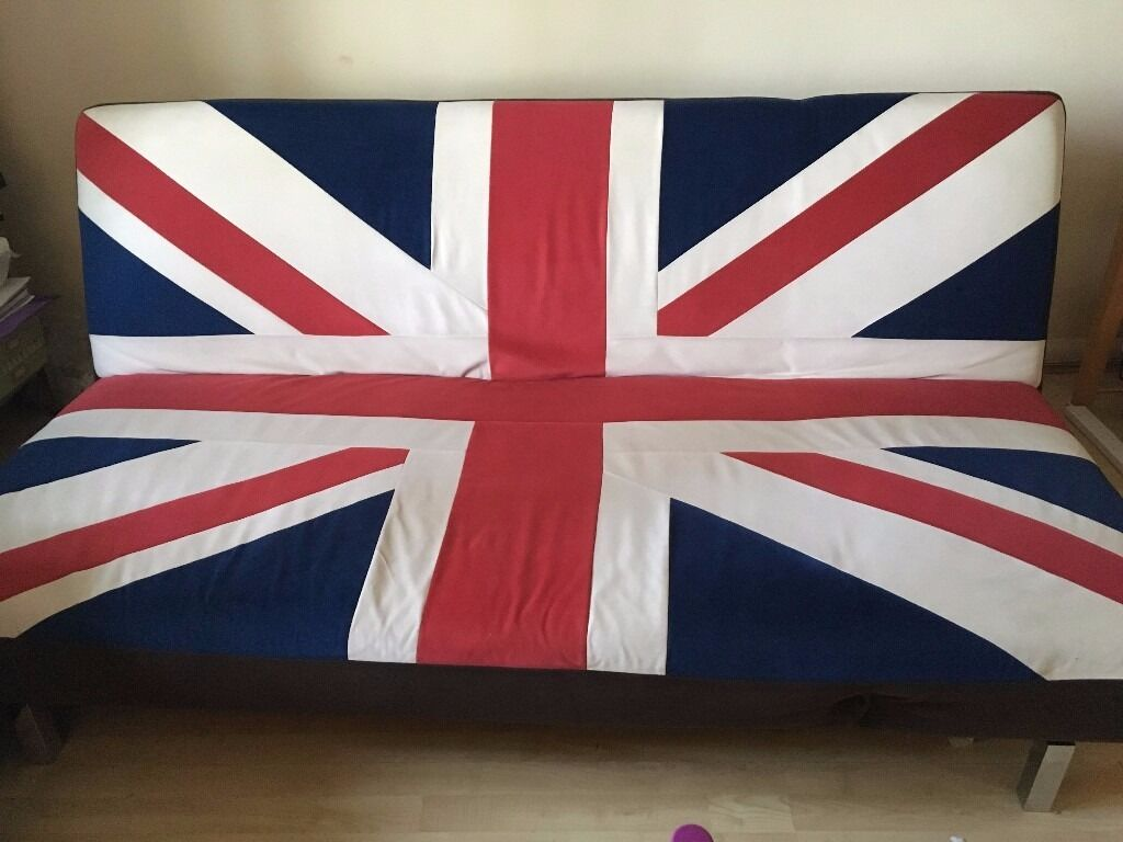 Union Jack Sofa Bed Used Sofa Bed Futon Union Jack Design In Nw6 London For 25 00 Thesofa