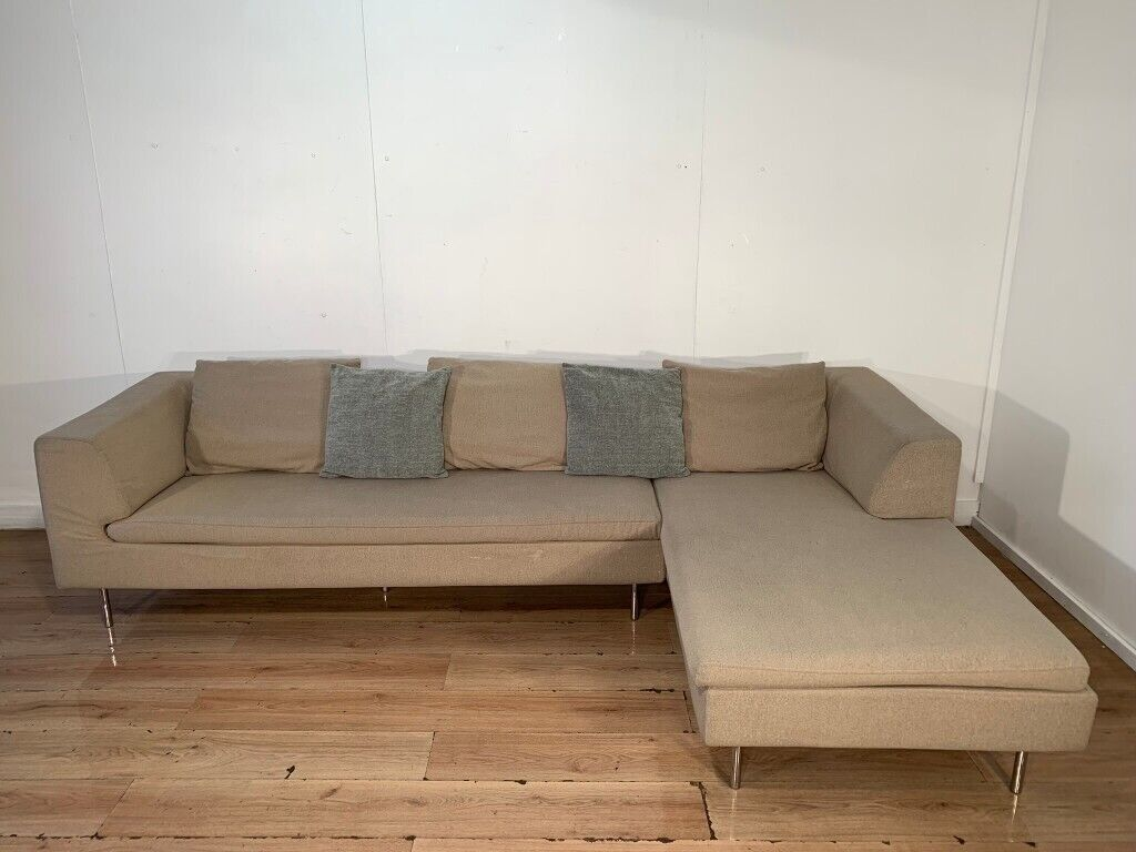 Dwell modern corner sofa with free delivery within 10 miles
