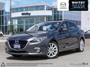 2014 MAZDA MAZDA3 GT- LUXURY PACKAGE