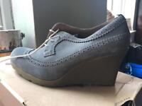 BRAND NEW Dr Martens Suede Wedges £15