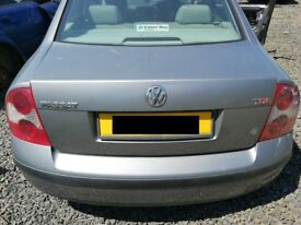 VW Passat 2001 Grey - For parts only!
