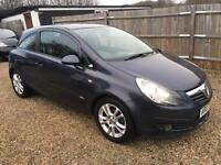 VAUXHALL CORSA 1.2 club 3DR 2007 IDEAL FIRST CAR CHEAP INSURANCE FULL SERVICE HISTORY LOW MILEAGE