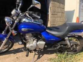 Kawasaki eliminator 125 brand new mot