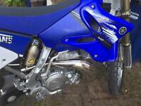 Yamaha YZ 250 2 Stroke road registered